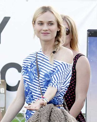 Beauty At Coachella 2012:Diane Kruger's Brows, Katy Perry's Crazy Colour and Dree Hemingway's Epic Red Lips