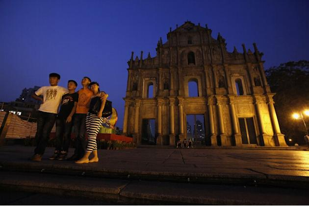 Macau Ruins of St Paul's