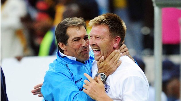 Eric Tinkler and Roger de Sa meet again