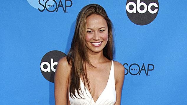Moon Bloodgood at the ABC All Star Party 2006.