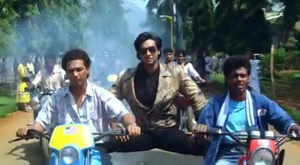 Bollywood and cool bikes