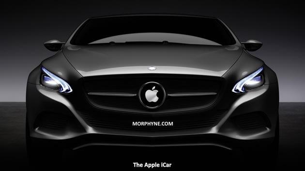 Apple iCar render