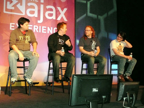 The Ajax Experience Browser incompatibility panel