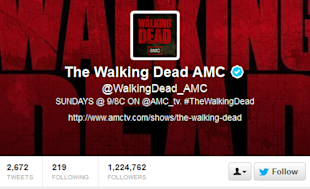 Not Your Grandfather's TV: Social TV Experience Ropes In Viewers For Latest Hit Shows image Walking Dead twitter