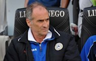 Francesco Guidolin, pictured in April 2012, says he cannot wait for Udinese to play the final game of the season as his side fight for a place in the Champions League