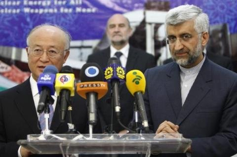 UN nuclear watchdog chief begins Iran talks
