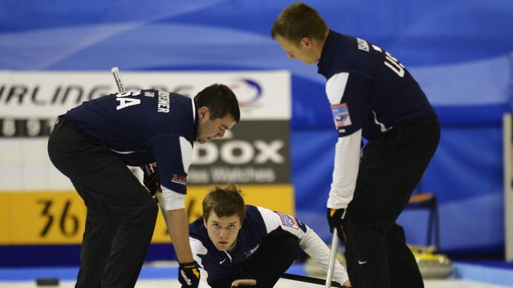 Curling Olympic Qualification Tournament - Day 1