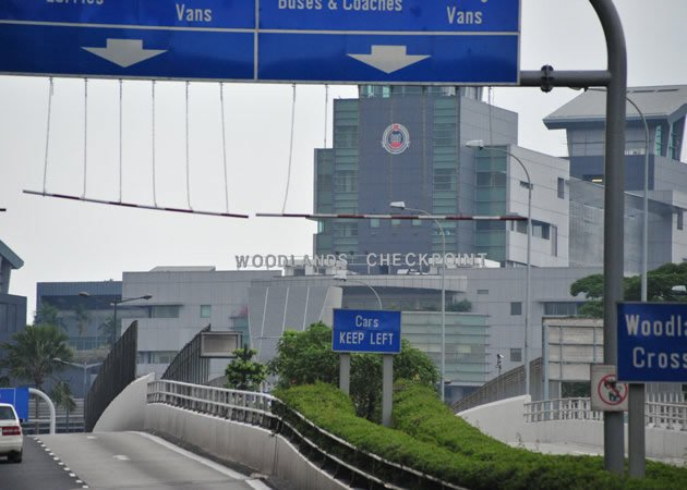 Singapore's Woodlands Checkpoint. (Yahoo file photo)