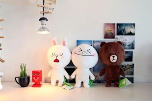 "Japanese Messaging App LINE Targets New Revenue With ""LINE Free Coins"" image LINE Social messaging app"