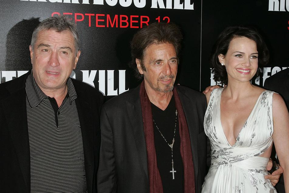 Righteous Kill NY Premiere 2008 Robert DeNiro Al Pacino Carla Gugino