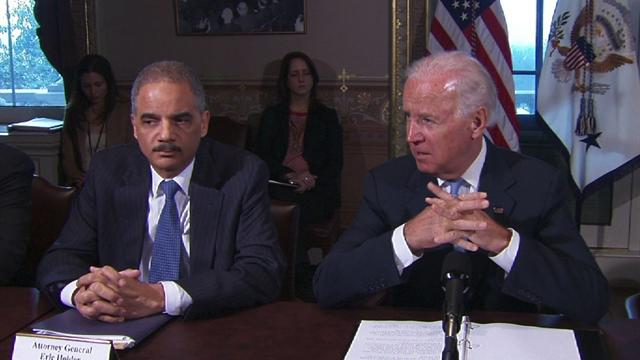 "Biden: Newtown awakened ""the conscience of the entire nation"""