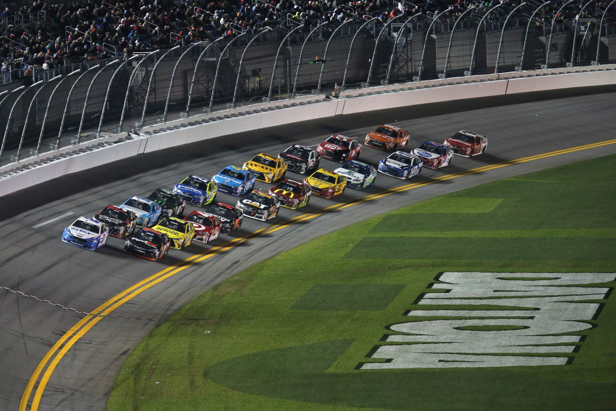 The Sprint Unlimited name for the race lasted for four years. (Getty)