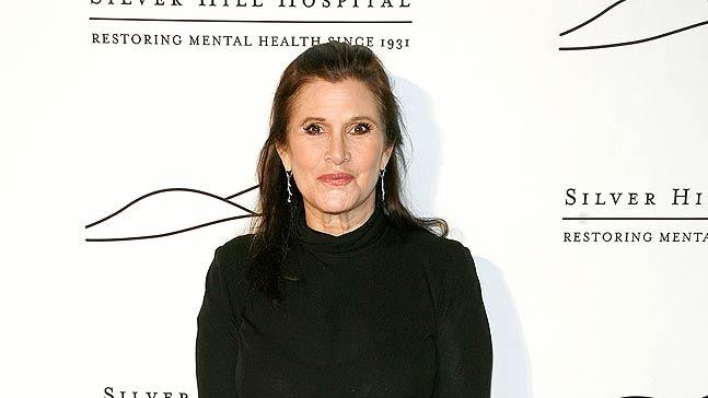 Carrie Fisher Silver Hill Hospital