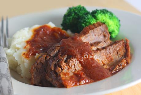 Root Beer Braised Brisket
