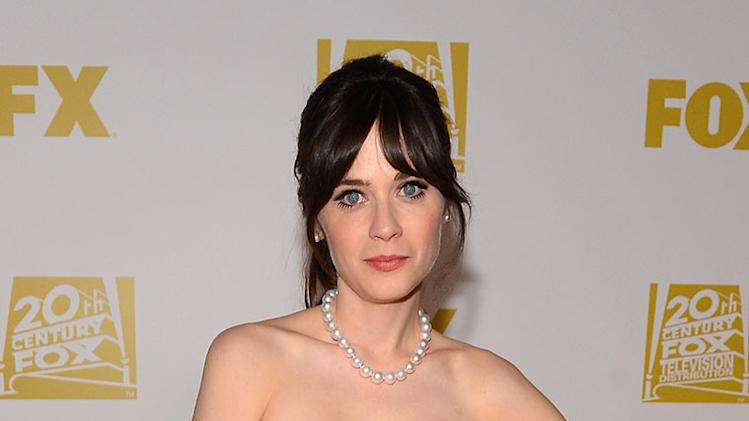 Fox Honors Their 70th Annual Golden Globe Awards Nominees And Winners At The Fox Pavilion At The Golden Globes - Red Carpet: Zooey Deschanel