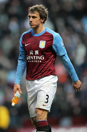 Stephen Warnock has found himself out of favour under Paul Lambert at Villa Park