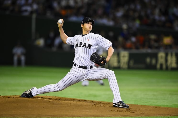 The Shohei Otani vs. MLB saga continues. (Getty Images/Masterpress)
