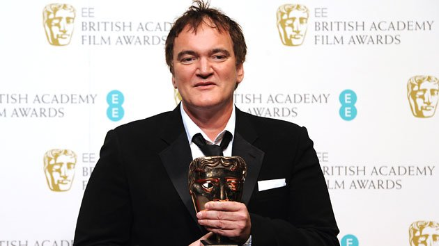 Quentin Tarantino at the 2013 BAFTA Awards on Sunday in London