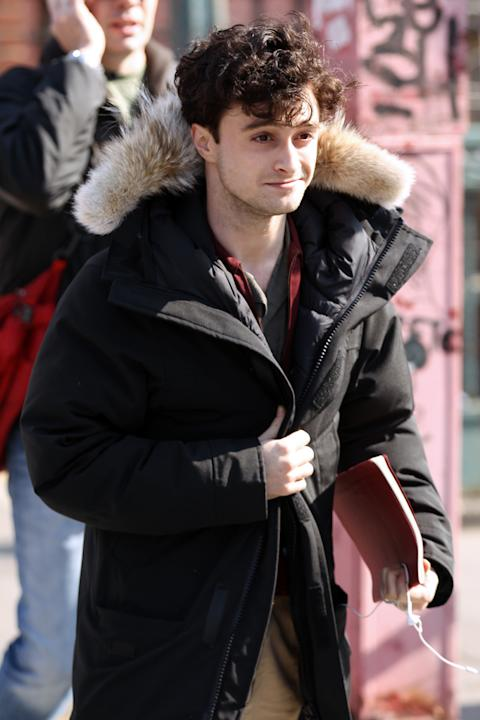 BuzzFoto Celebrity Sightings In New York - March 19, 2012