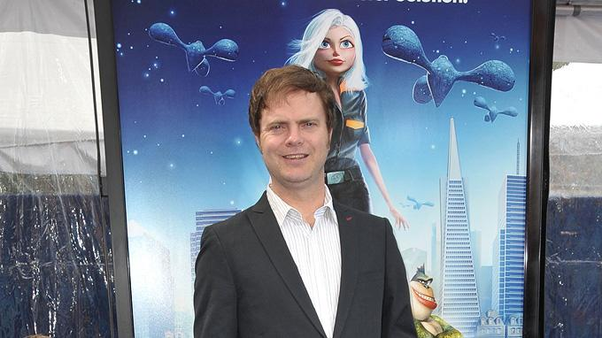 Monsters vs Aliens LA Premiere 2009 Rainn Wilson