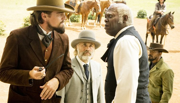 All star cast... Django Unchained (Credit: Sony)