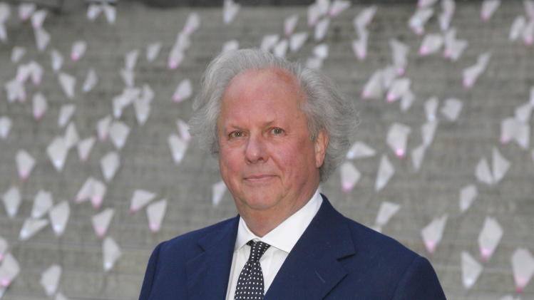 Editor of Vanity Fair Graydon Carter attends the Vanity Fair Tribeca Film Festival Party, on Tuesday, April 16, 2013, in New York. (Photo by Andy Kropa/Invision/AP)