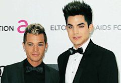 Saul Koskinen and Adam Lambert | Photo Credits: Frederick M. Brown/Getty Images