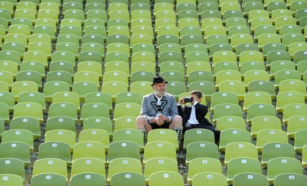 Spectator's In Traditional Bavarian Clothes AFP/Getty Images