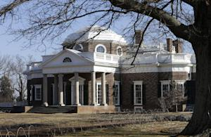 Monticello, the home of Thomas Jefferson, is bathed…