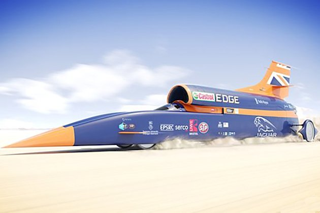 Bloodhound SSC photo