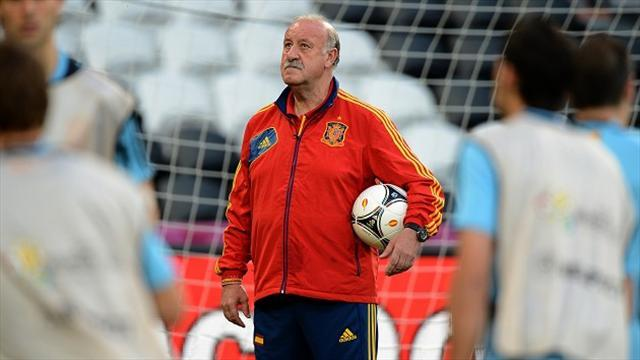 Confederations Cup - Del Bosque magnanimous in defeat