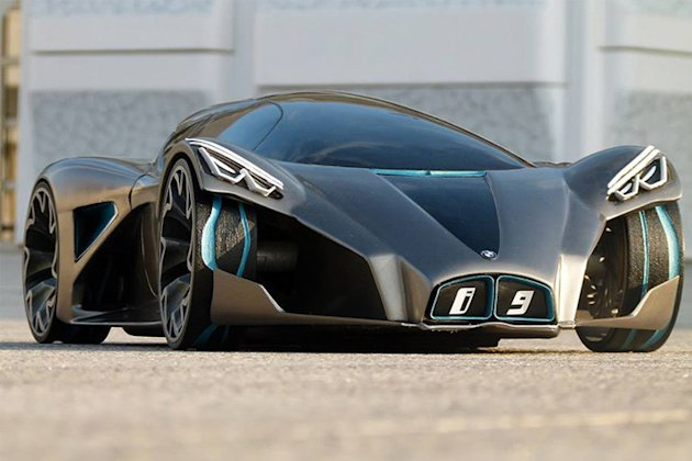 bmw i9 carlos aliaga concept photo