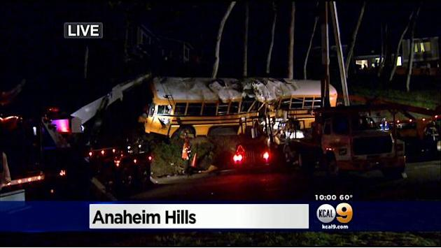 6 Hurt, 3 Critically, In OC Bus Crash