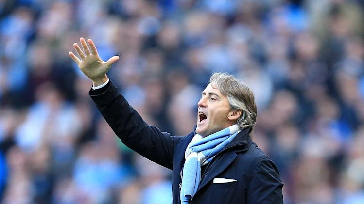 Roberto Mancini does not believe his players are strong enough to man-mark