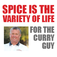Spice is the Variety of Life for The Curry Guy image curry guy social media