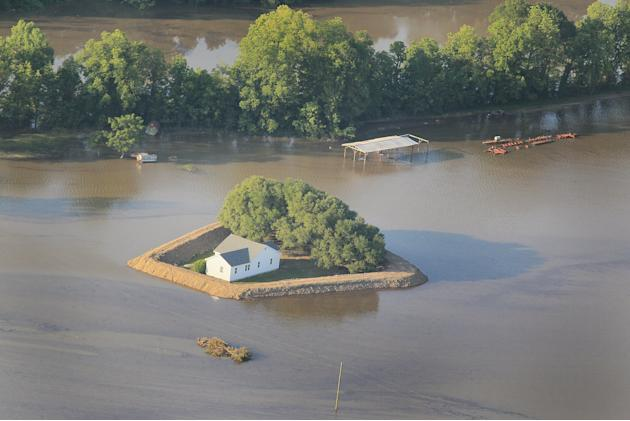 Rising Rivers And Tributaries Continue To Flood Southern Communities And Farm Land