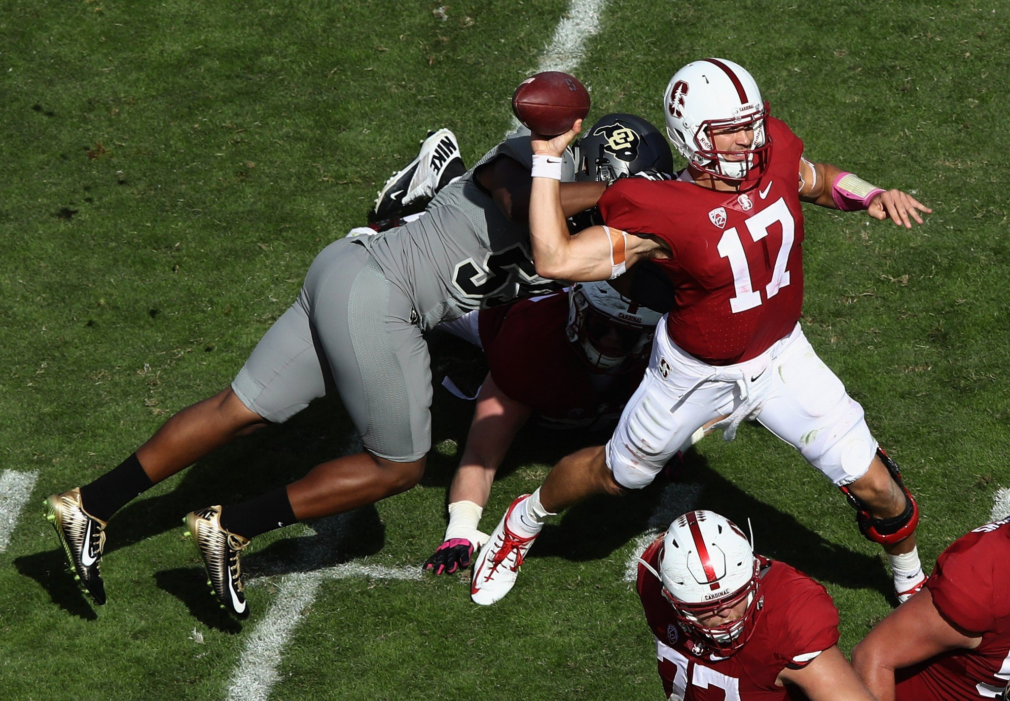 Ryan Burns opened 2016 as Stanford's starting quarterback. (Getty)
