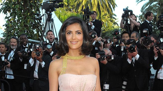 63rd Annual Cannes Film Festival 2010 Closing Ceremony Salma Hayek