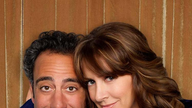 "Brad Garrett stars as Eddie and Joely Fisher stars as Joy in ""'Til Death."""
