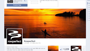 How to Make Matching Facebook Profile and Cover Photos image screenshot template