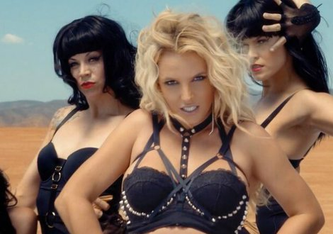 Britney Spears in 'Work B**ch'