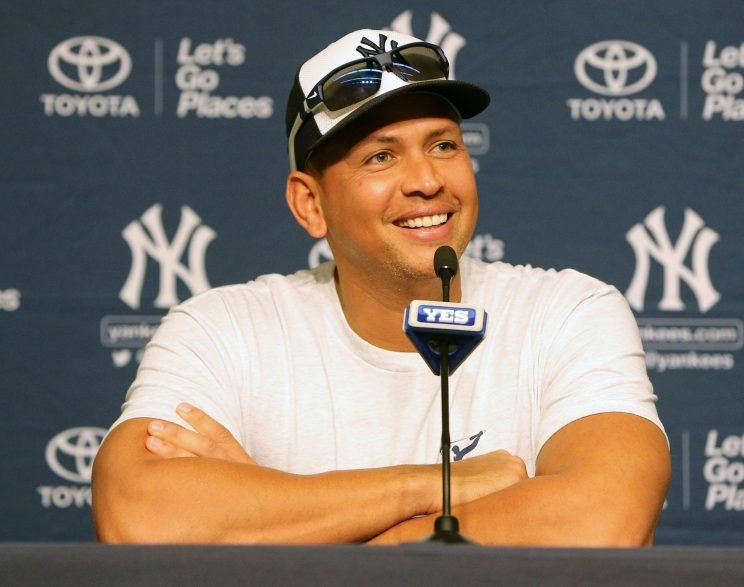 Alex Rodriguez has excelled behind the microphone. (Getty Images/Christopher Pasatieri)