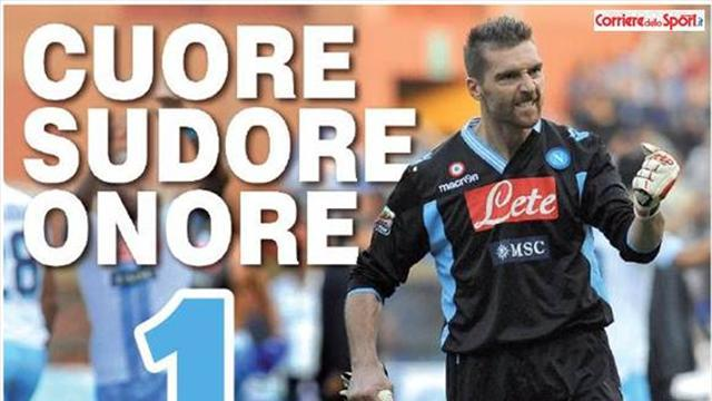 Serie A - De Sanctis says bye with advert