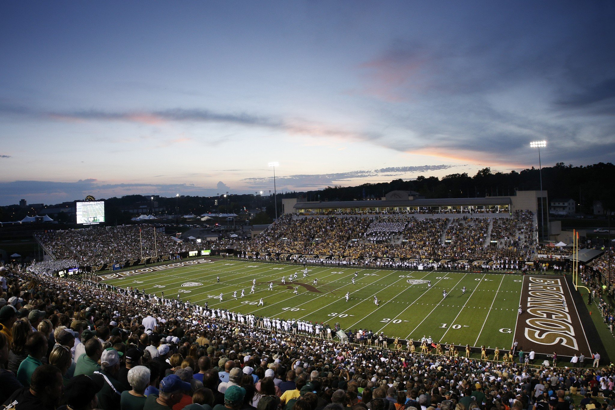 Western Michigan hosts 2-8 Buffalo at Waldo Stadium on Saturday. (Photo by Joe Robbins/Getty Images)