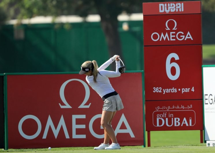 The Omega Dubai Ladies Masters began on Wednesday. (Getty Images)