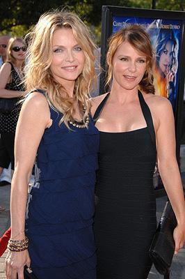 Michelle Pfeiffer and Dedee Pfeiffer at the Los Angeles premiere of Paramount Pictures' Stardust