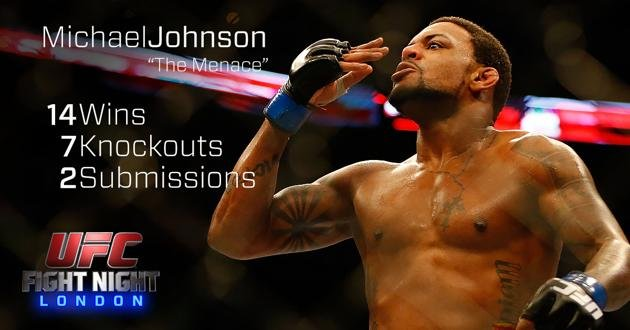 Michael Johnson UFC Fight Night London