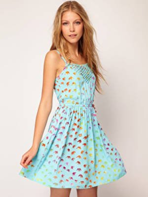 Sugarhill Boutique Sundress in Ellie Print