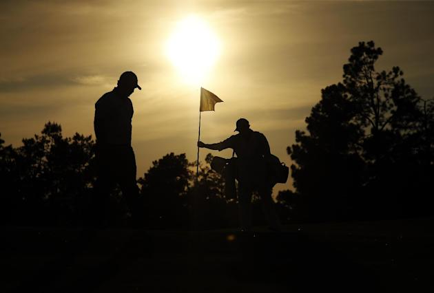 AP10ThingsToSee - Rory McIlroy, of Northern Ireland, walks to the 17th green during the second round of the Masters golf tournament in Augusta, Ga. on Friday, April 11, 2014