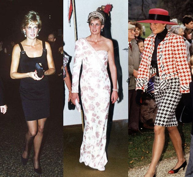 diana, fashion, fashion rules: dresses from the collections, kensington palace, princess diana
